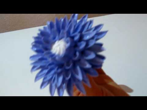 Хризантема из белкового крема КАК СДЕЛАТЬ ХРИЗАНТЕМУ ИЗ КРЕМА Chrysanthemum from albuminous cream
