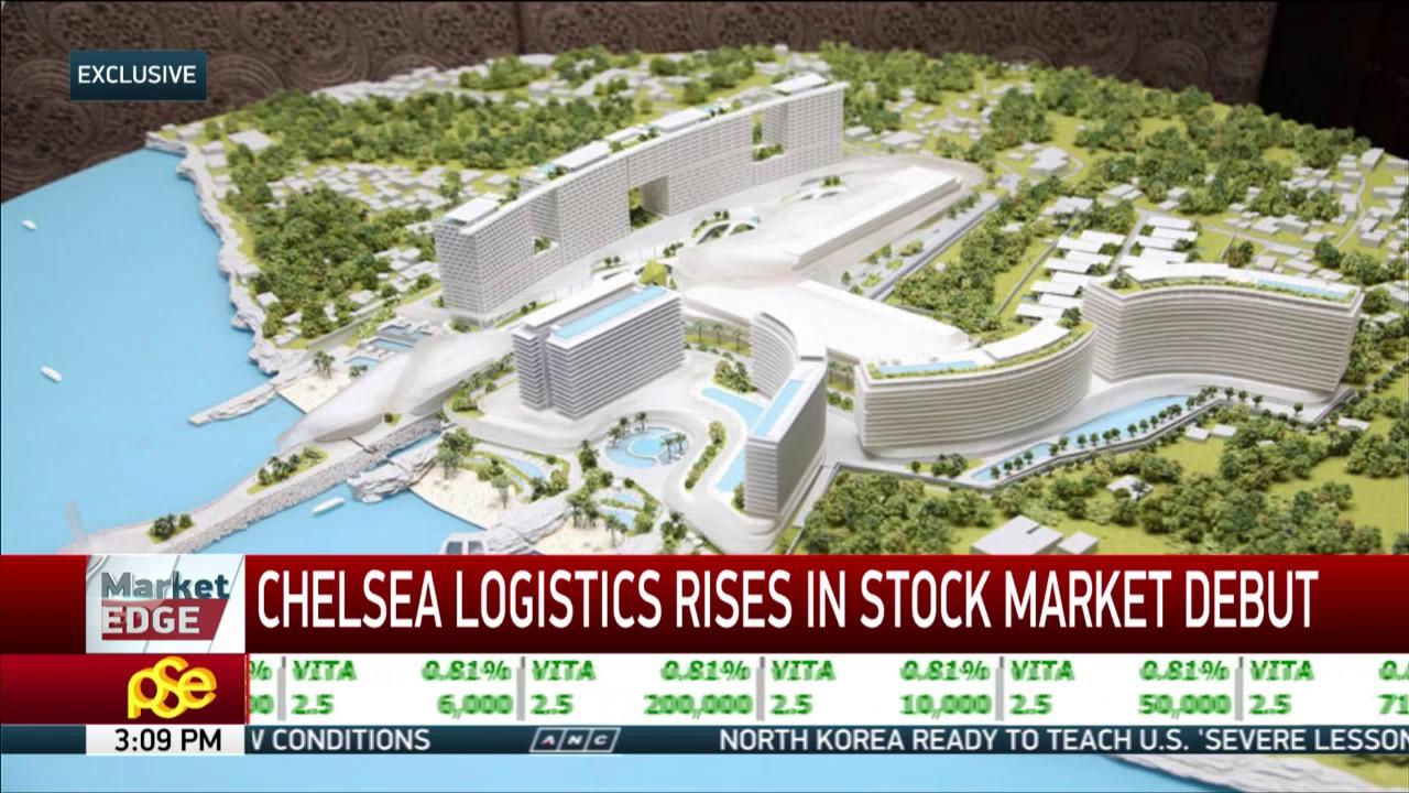 Dennis Uy's Chelsea Logistics rises in stock market debut