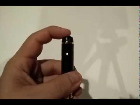 วิธีการใช้งาน กล้องปากกา HD 720p