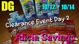 Dollar General Clearance Event Day 2!! 10/ 13/ 18
