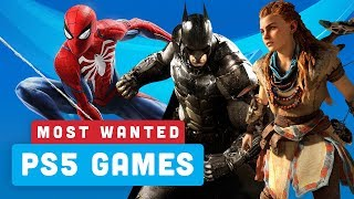 Your Most Wanted PS5 Launch Game Titles - Power Ranking