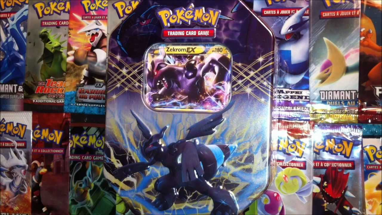 Carte pokemon zekrom ex ebay