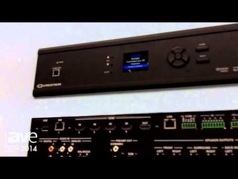 ISE 2014: Crestron Presents HDXSPA 4K Digital Media AVR
