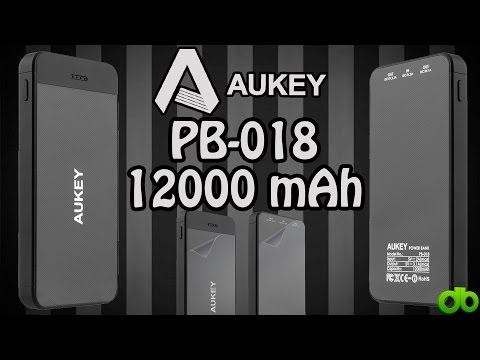 Aukey PB-018 PowerBank 12.000mAh Unboxing y Review en Español