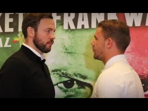 ANDY LEE V BILLY JOE SAUNDERS OFFICIAL HEAD TO HEAD / THE XMAS CRACKER