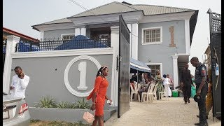 Check Out Sola Kosoko & Husband Very Big House,As Popular Yoruba Actors Spotted Enjoying Themselves