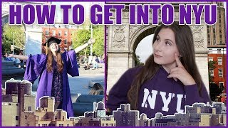 HOW TO GET INTO NYU FILM SCHOOL *Tips From an Alum*