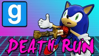 DEADLY SONIC (Gmod Death Run Funny Moments)