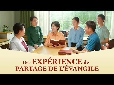 Témoignage chrétien en français 2021 « Une expérience de partage de l'Évangile »