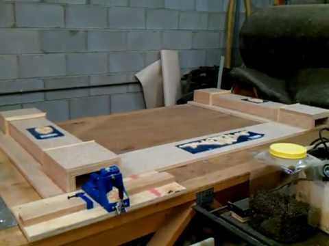 Building Fireplace Mantel Video