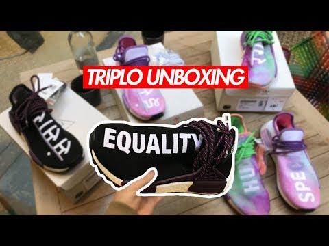 TRIPLO UNBOXING: ADIDAS HUMAN RACE HOLI FESTIVAL