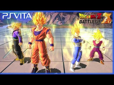 PS Vita - Dragon Ball Z Battle of Z - Official Gameplay Trailer [English]
