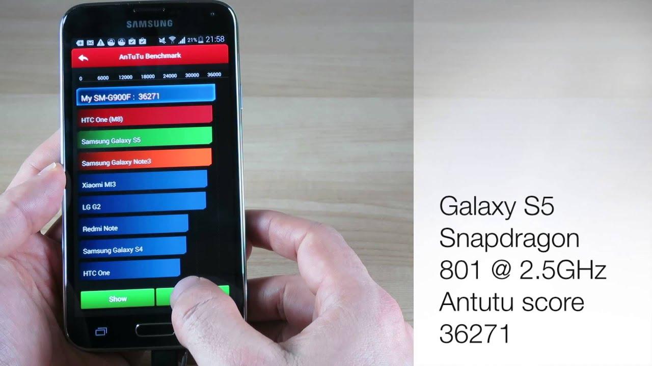 Comparison Galaxy s4