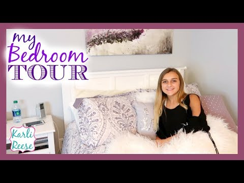 MY BEDROOM TOUR 2017!!