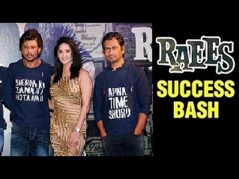 Shah Rukh Khan ने Sunny Leone के साथ की Raees की Success Celebrate