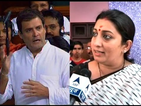 War of words between Rahul Gandhi and Smriti Irani over Food Park issue, who will win?