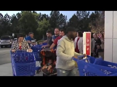 Video shows fist fight over Black Friday deals