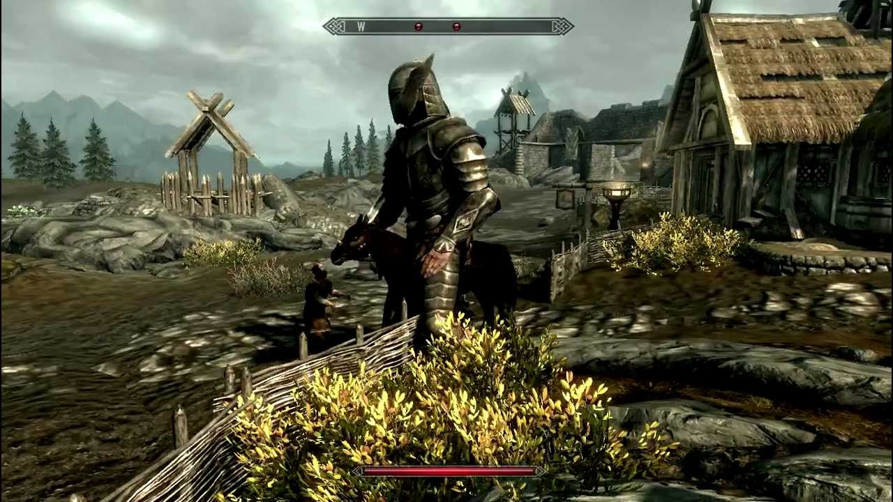 Skyrim Console Commands Set Scale Being a Giant - YouTube