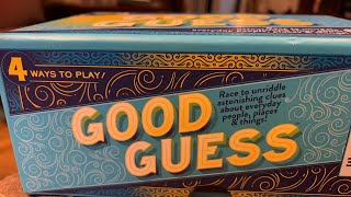 JULY 20th LIVE SATURDAY NIGHT GAME NIGHT - GOOD GUESS