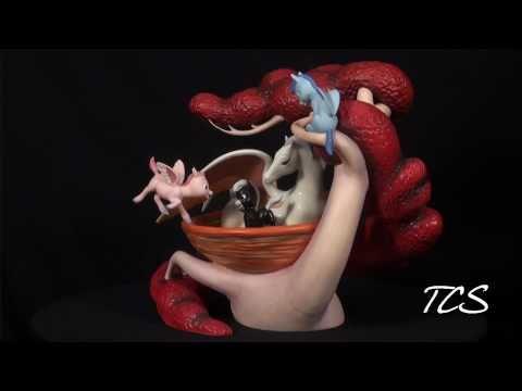 WDCC Fantasia Pegasus Family Mythic Menagerie
