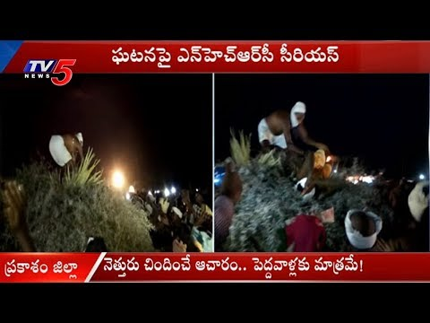 Superstitious Beliefs In The Name Of Kampakalli In Chinna Gollapalli | Prakasam District | TV5 News