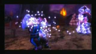 Mortal Kombat Shaolin Monks Kitana gets Fatality