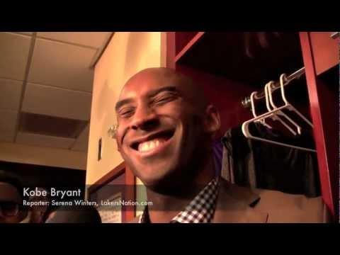 Kobe Bryant on Lakers Retiring Jersey: