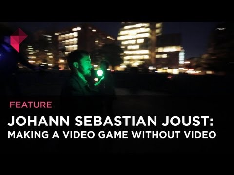 Johann Sebastian Joust: Making a video game without video