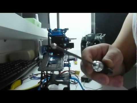 Montagem / Build part 12 - CopterX 450 SE V2 - (passo a passo / step by step) T-rex 450 clone