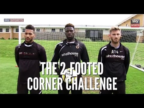 2 Footed Corner Challenge - Wolves FC - The Fantasy Football Club -