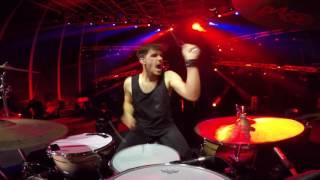 2cellos Whole Lotta Love Live At Arena Di Verona Drum Cam Dusan Kranjc