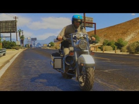 Gta V - Officer Trevor Is The Highway Patrol (junior Brown) video