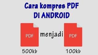 cara kompress file pdf di hp android