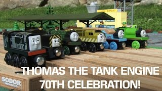 Thomas the Tank Engine 70th Anniversary Celebration! (Thomas & Friends)