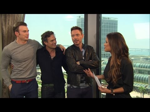 Robert Downey Jr. & 'Avengers' Cast Unleash 'Age of Ultron' Details & Big Laughs at Comic-Con