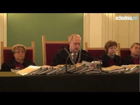 Ogłoszenie Wyroku W Sprawie Potrójnego Zabójstwa W Cedzynie
