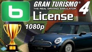 Gran Turismo 4 [1080p] - B-License - Gold & Prize Cars!