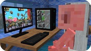 Bebe Aenh juega Zombie Tsunami en Minecraft - Minecraft