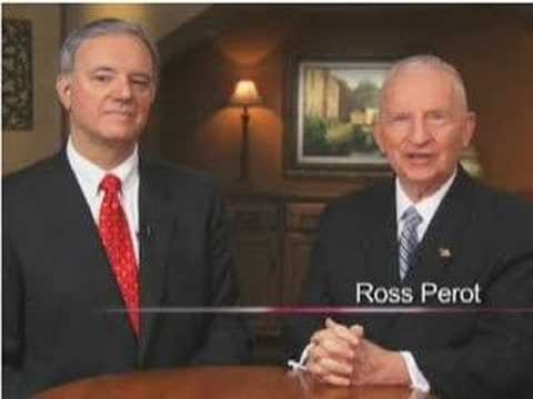 Ross Perot - ECONOMIC crisis 2008 Video
