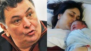 Rishi Kapoor ABUSES troller who hoped that Kareena Kapoor's son Taimur dies!