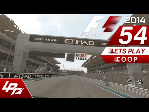 F1 2014 COOP Part 54 - Abu Dhabi Rennen / FINALE (FullHD) / Lets Play Together F1 2014