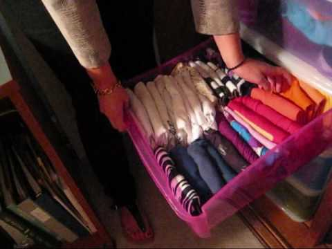 How To Organize Your Closet Youtube