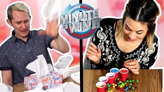 Minute to Win It Challenge!