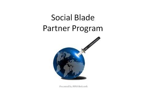 Social Blade Partner Program