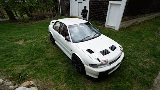 450 Horsepower EVO 2 hillclimb car...(ANTILAG!!)