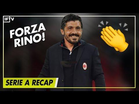 GATTUSO WONT BE LEAVING AC MILAN  Serie A Round 7 Recap