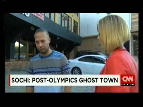 Russian ghost town Sochi after Olympics.
