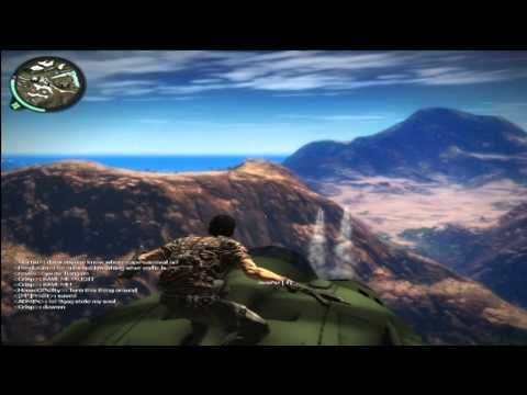 JustCause 2 - MP Surfando no Jato com JoaoNZ