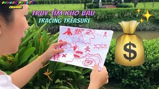 The story: tracing treasure from the mysterious map along Phuong Phuong channel