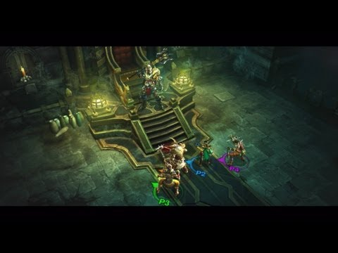 Diablo III PlayStation 3 Multiplayer Trailer